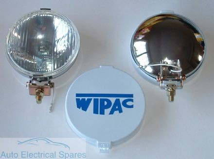 WIPAC S6078 5 1/2 CHROME Halogen Driving FOG Lamps ( 1 PAIR )